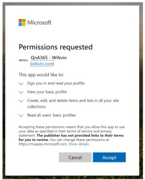 microsoft permissions microsoft sign in